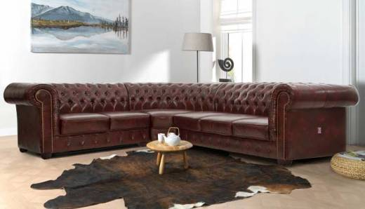 Edinburgh Chesterfield Canapé d'angle