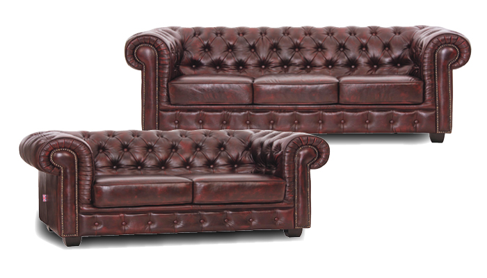 Chesterfield bankstel, salons