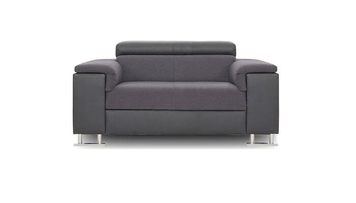 loveseat gris