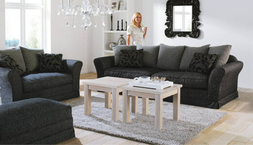 Deluxe 1,5-Places Canapé (Loveseat)