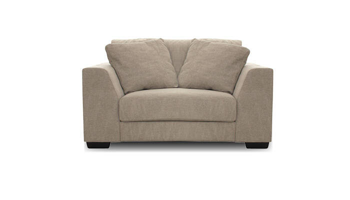 loveseat taupe