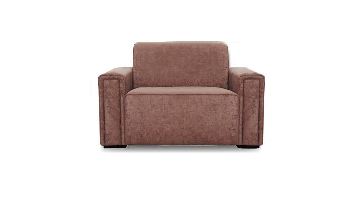 loveseat brun